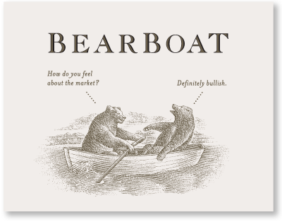Bearboat Sonoma Coast Pinor Noir with bear quips labels