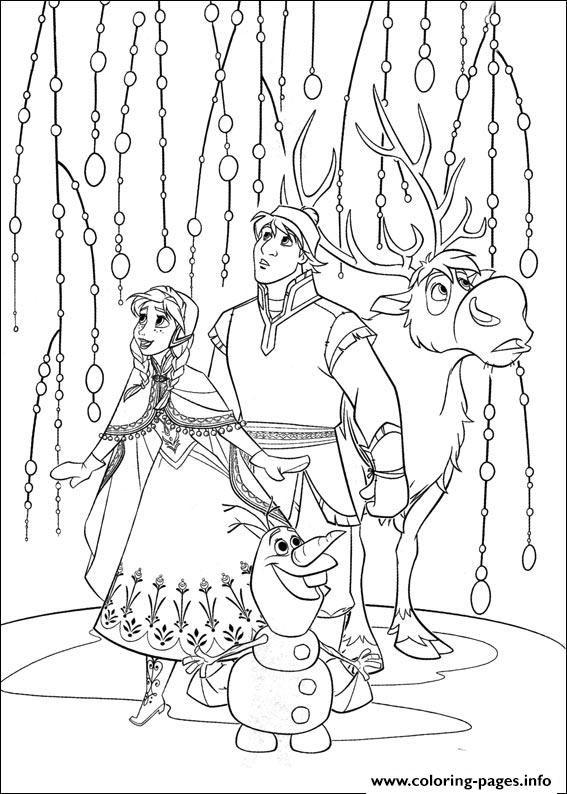 Print Frozen 13 Coloring Pages Frozen Coloring Pages Frozen Coloring Elsa Coloring Pages
