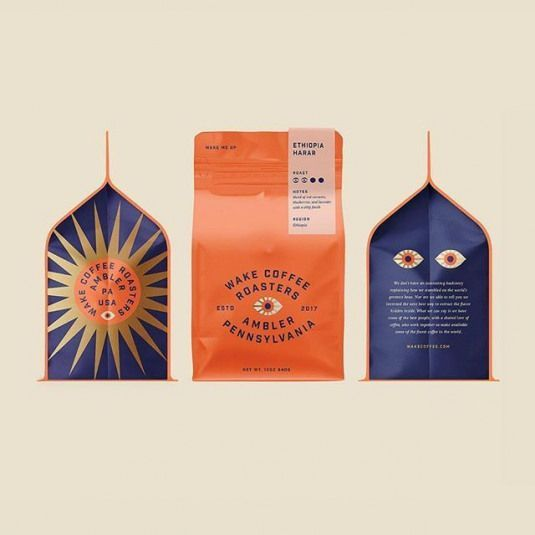 Coil @kennycoil - A little design and packaging exploration for a recent branding project. We didnt move forward with this direction but still in love with those eyes. @breakmaiden . Feature: @worldbranddesign Submit: /submit .