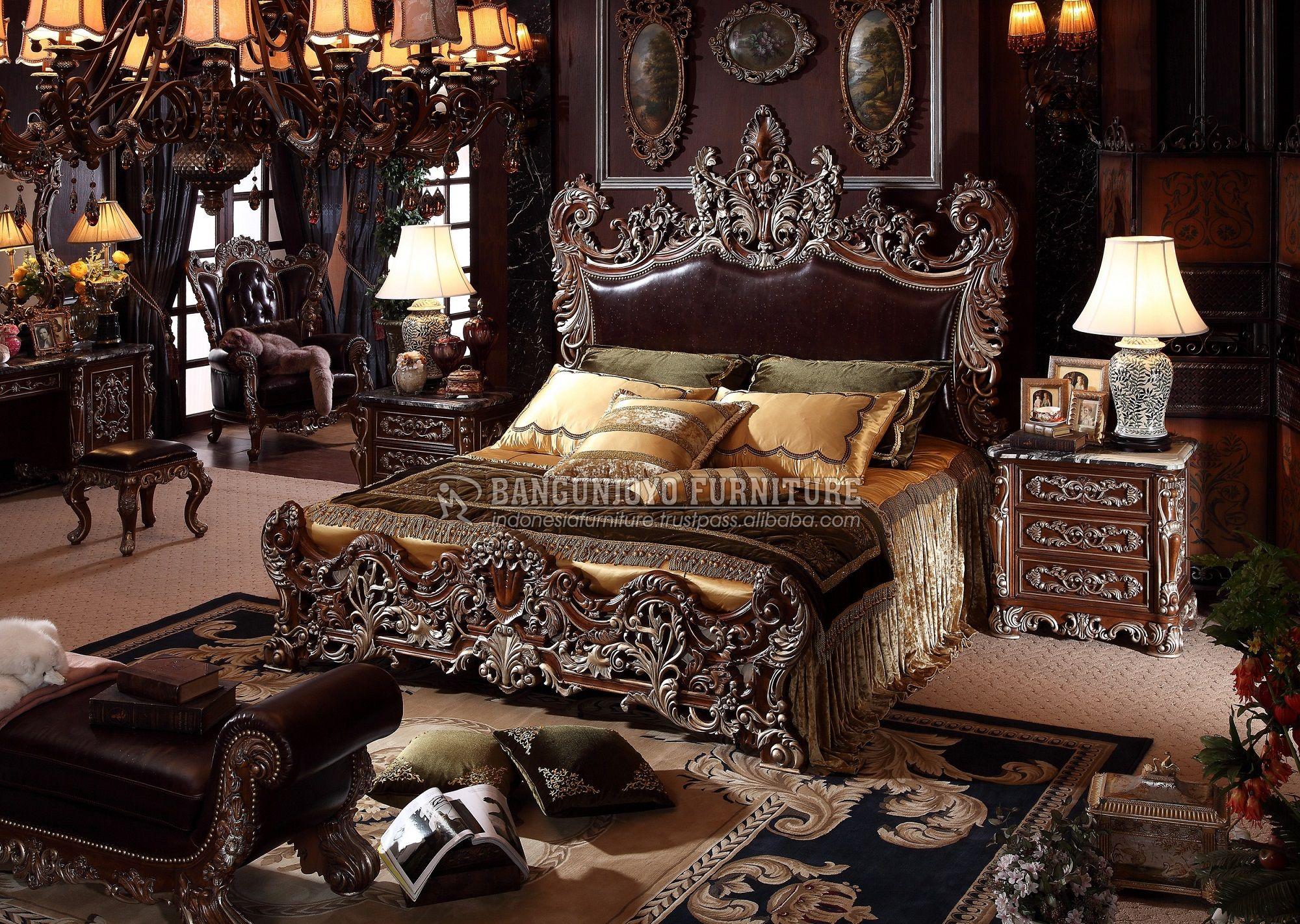 Italian Royal Luxury Bedroom Set