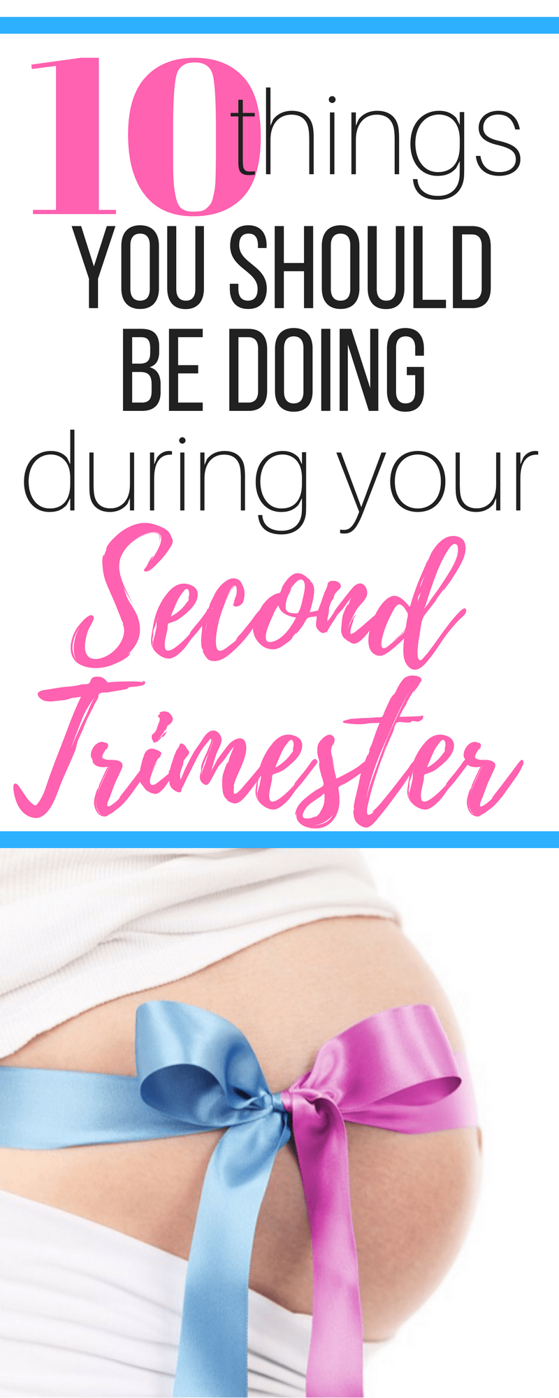 Preparing for baby during pregnancy tips: Did you survive the first trimester of pregnancy! Congratulations! Welcome to the second trimester, or weeks 14-27! Check out this list of 10 things you should be doing during your second trimester to prepare for your baby!
