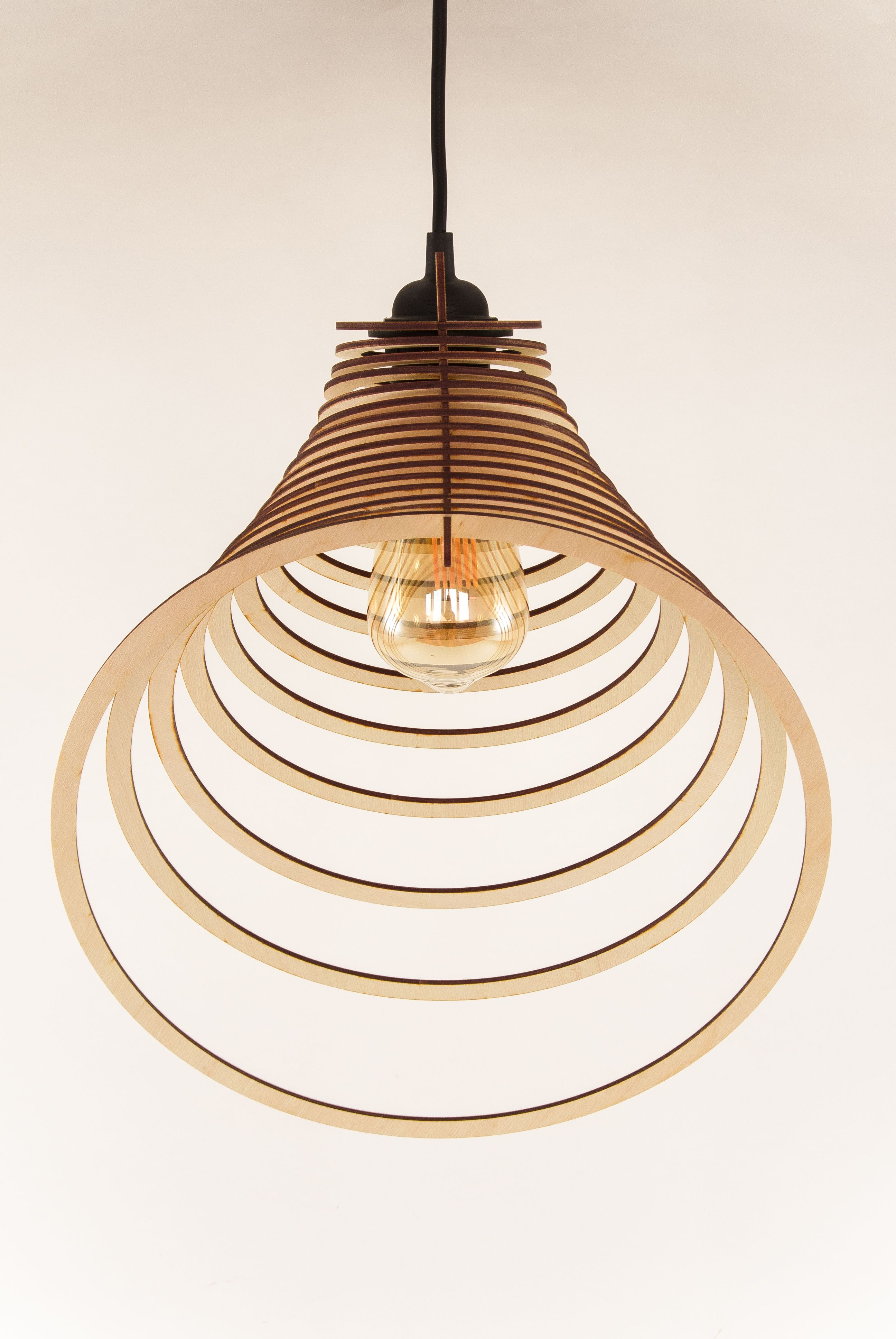 This Amazing Modern Minimalist Wooden Pendant Light Is A Great