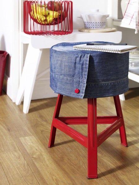 Im Denim Look Einrichten Die Jeans Zieht Ein Denim Ideas
