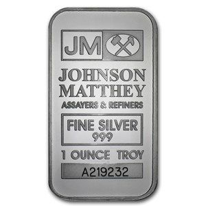 Buy Silver Online Buy Johnson Matthey Silver Bars Apmex Com Buy Silver Online Silver Bars Silver Bullion