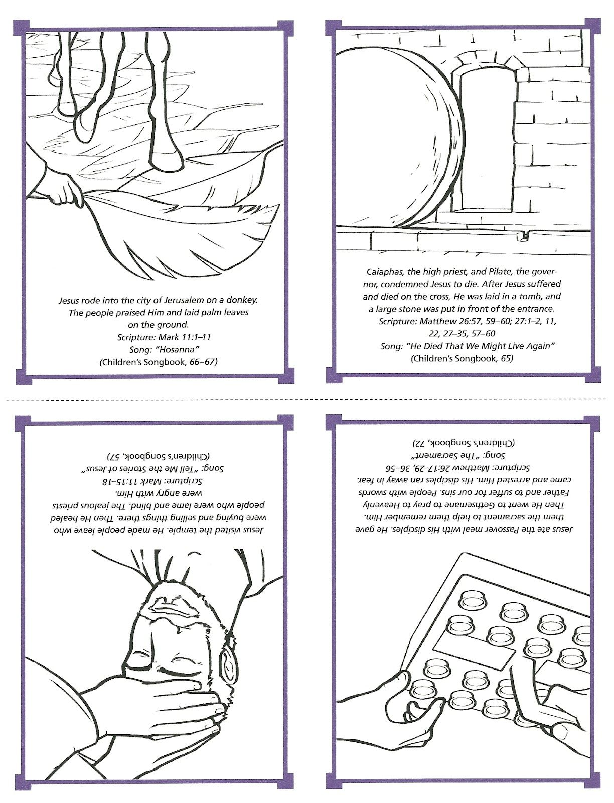Primary 2 Lesson 41 Jesus Christ Is Our Savior Journal Page