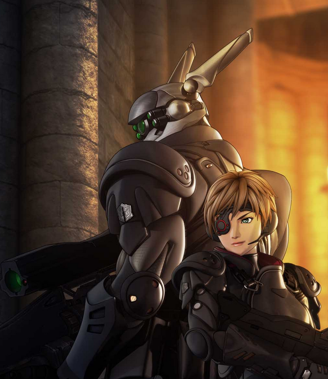 Appleseed Character Design : Deunan and briareos from appleseed google search love