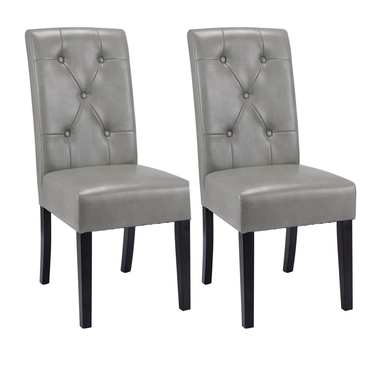 Best Set Of 2 High Back Armless Accent Dining Chairs Dining 400 x 300