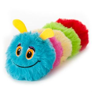 Toys R Us Pets Caterpillar Squeaker Dog Toy Puppy Love Dog