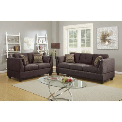 Alcott Hill Donovan 2 Piece Living Room Set in 2018 Products