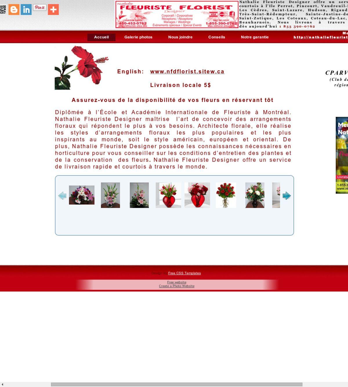 l'Équipe de nathalie fleuriste-designer réalise des créations