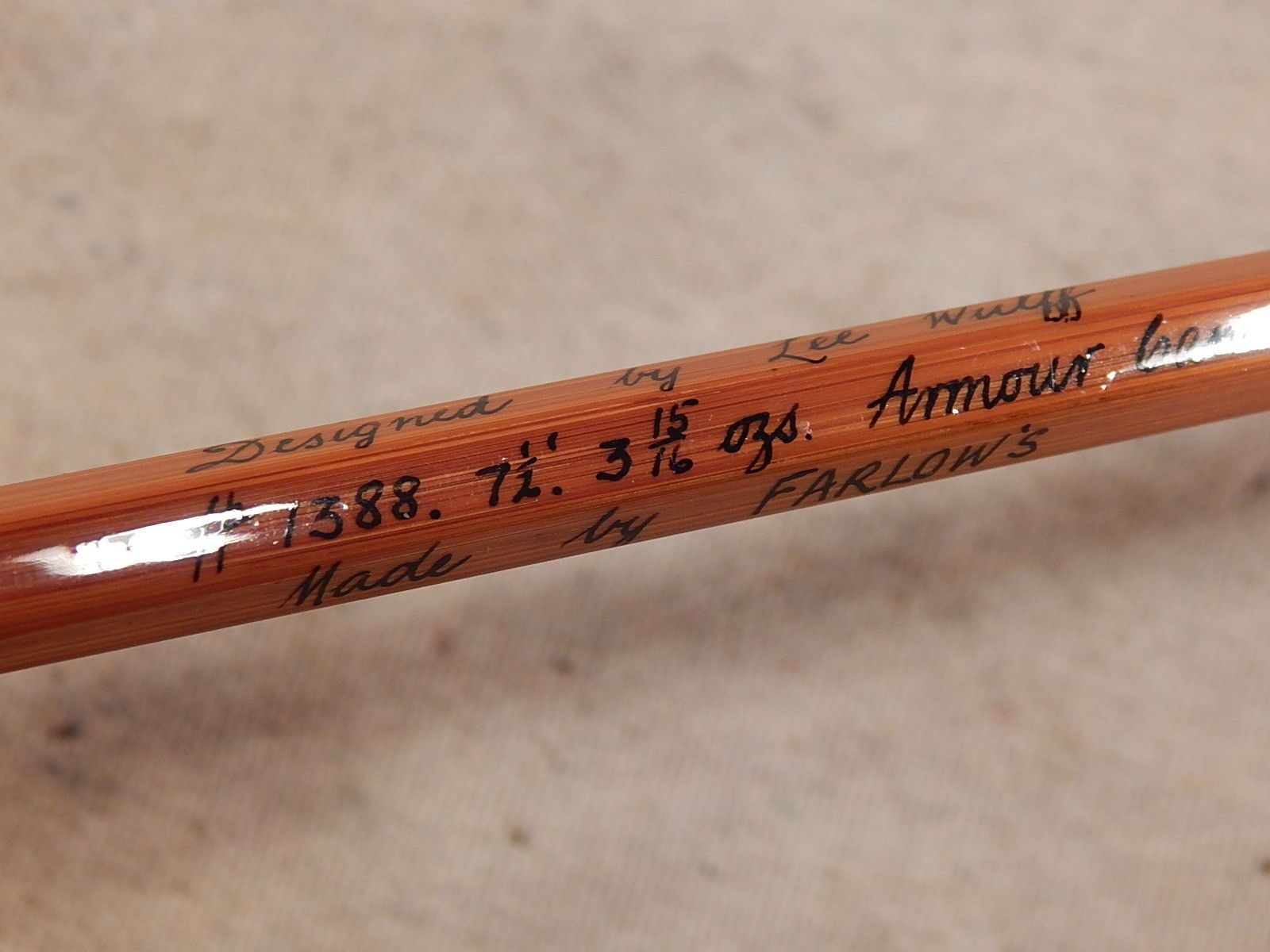 Farlows Of Scotland Lee Wulff 7 6 5 6 Weight Bamboo 2 1 Impregnated Fly Rod Ebay Bamboo Fly Rod Fly Rods Rod
