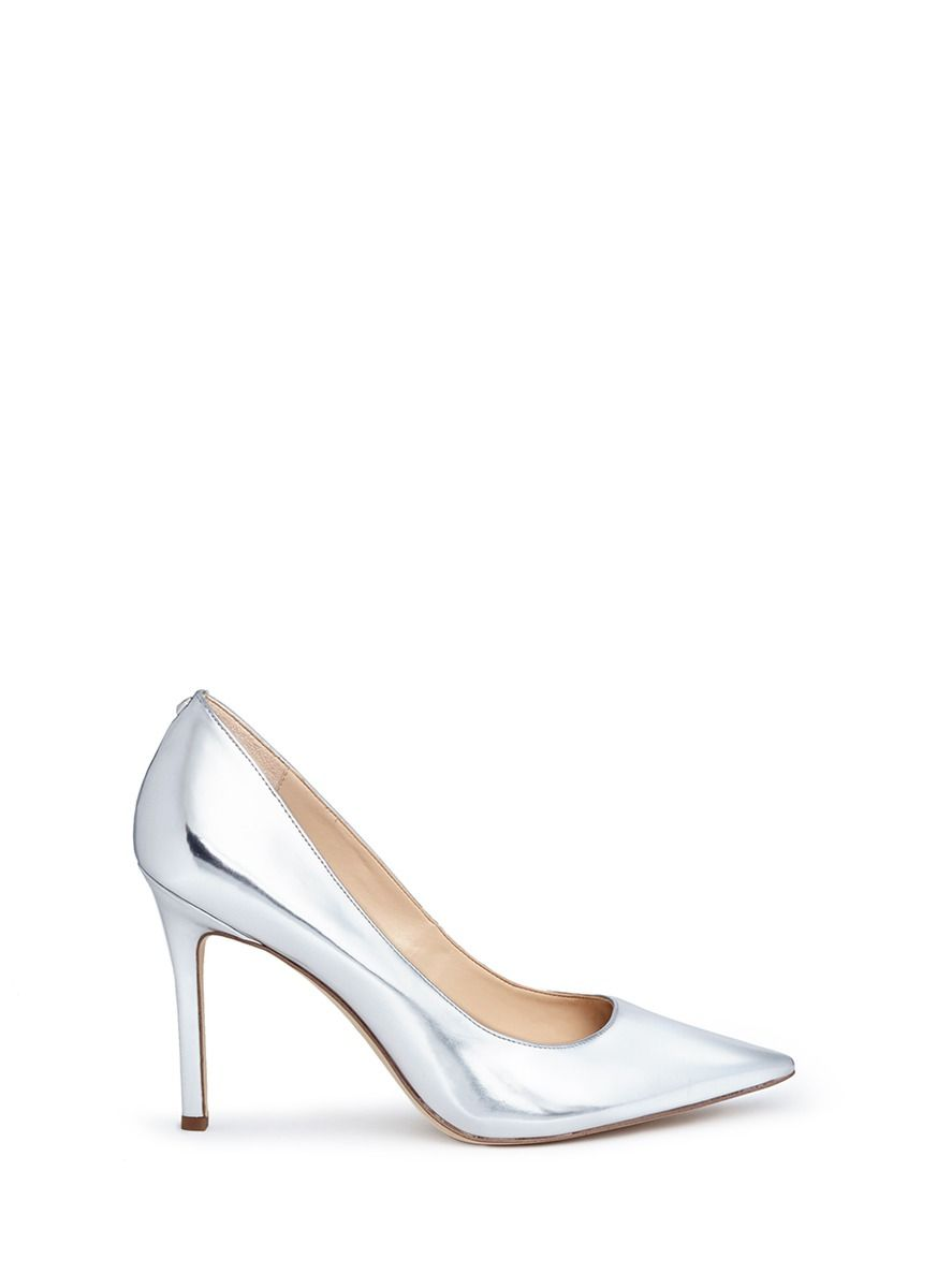 397f27fbd2 SAM EDELMAN 'Hazel' Metallic Pumps. #samedelman #shoes #pumps | Sam ...
