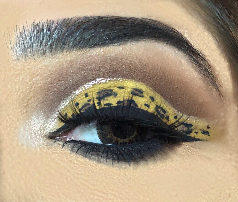Cheetah Print Eye Makeup Look My Pages Art Studios Eye
