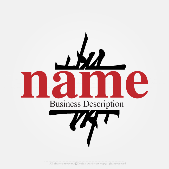 Online Logo Creator Japanese Style Label Logo Template The Best
