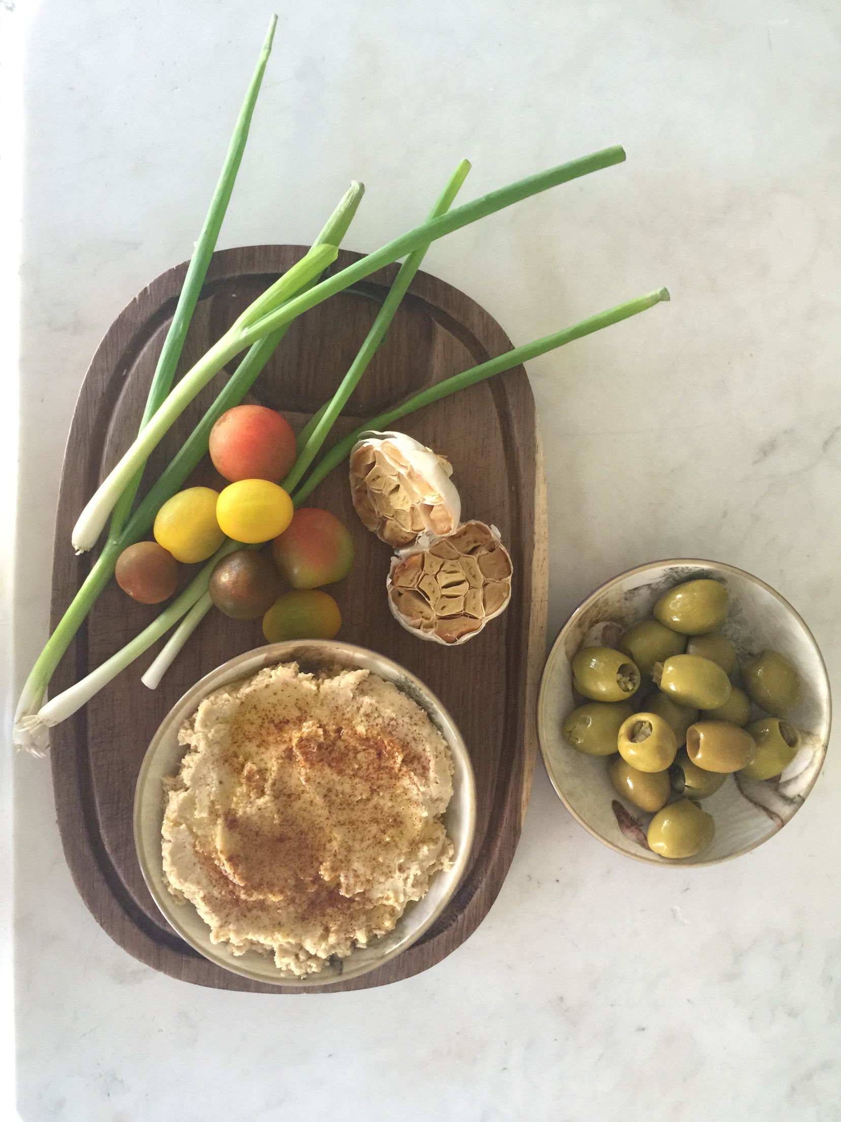 Hummus is a tasty, healthy, gluten free, low calorie snack