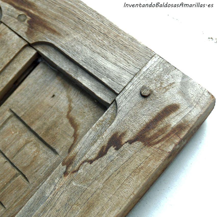 Os contamos cómo limpiar madera en nuestros muebles antiguos para ...