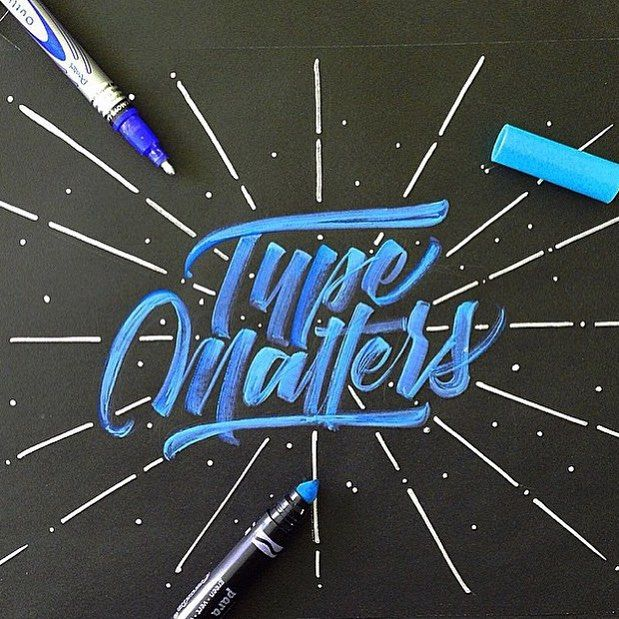 """As a thank you for all the support in the past 8 months we will be doing our first giveaway. To enter our contest you must design a piece that reads """"Type Matters for JetPens."""" All applicants must be following @type_matters and @jetpens and use the hashtag #typemattersforjetpens. For anyone with a private account we will not be able to see your entry unless you make your profile public. The winning piece will receive a $25 gift card from @jetpens. Each applicant will only be allowed 1 entry…"""