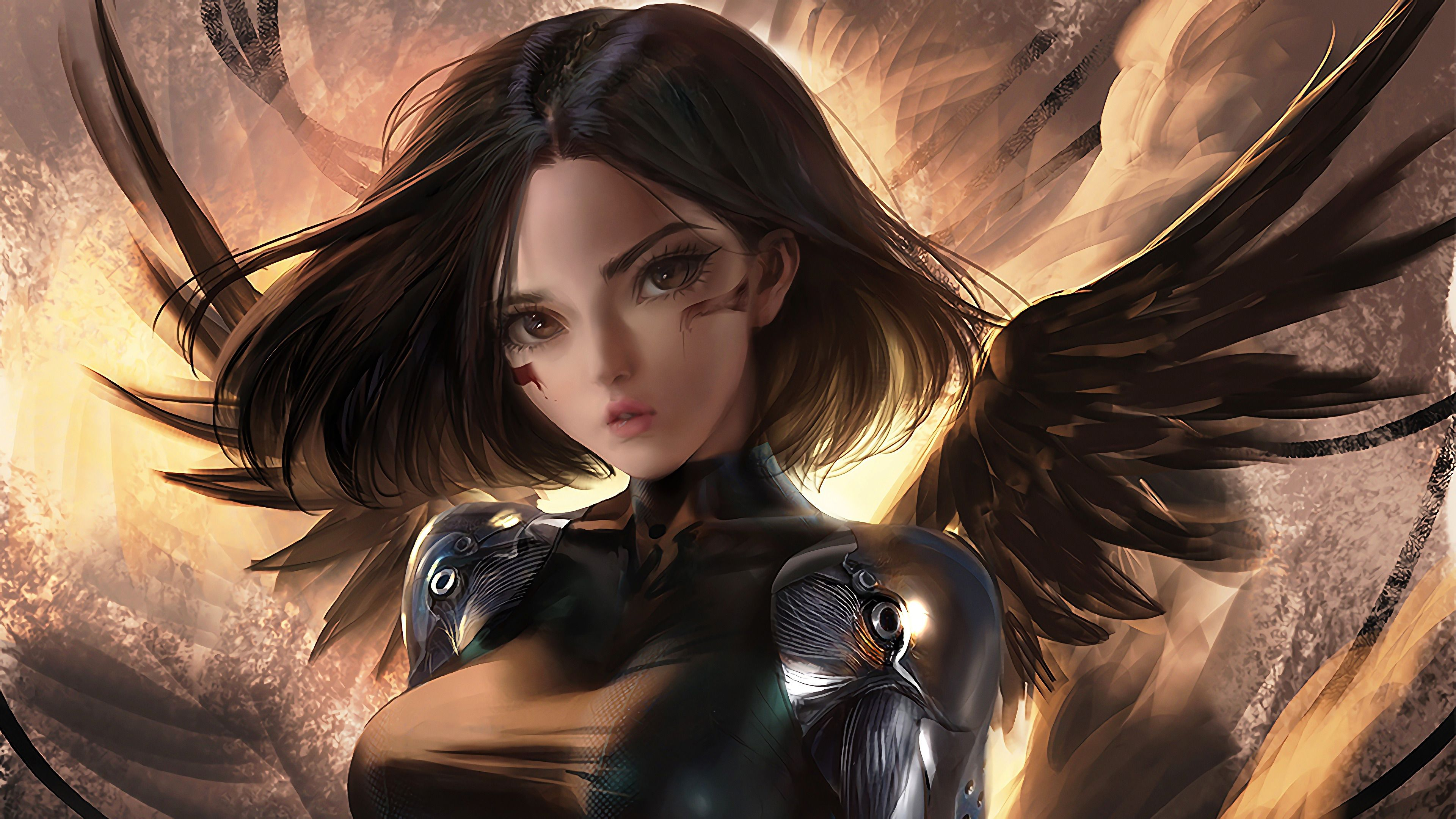 Alita Battle Angel Fantasy Fan Art 4k ...