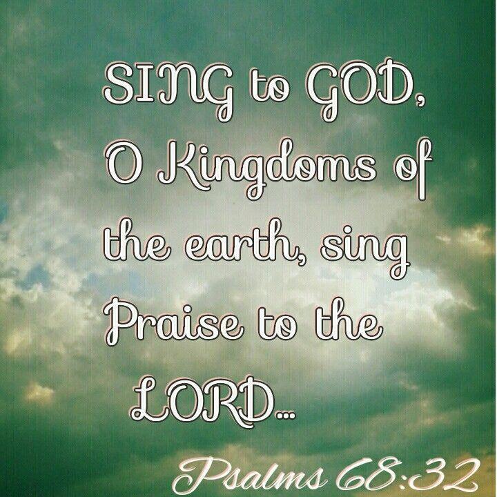 Sing Praises To The Lord Amen Kim Praise God Quotes