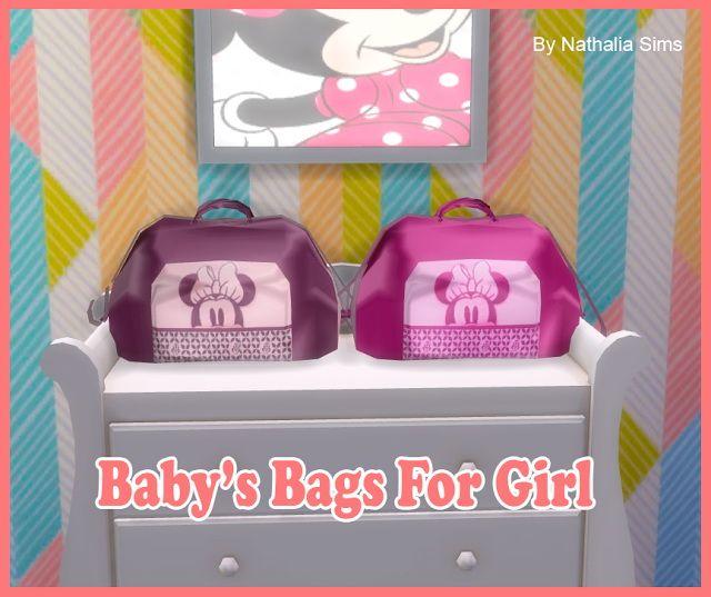 Baby's Bag for Girl at Nathalia Sims via Sims 4 Updates ...