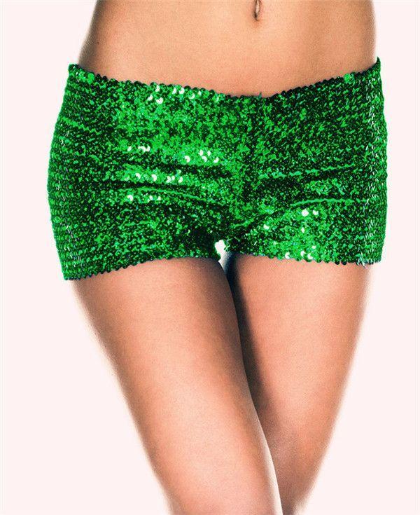 8f59846e Fashion Girl Sequin Shorts Summer Sexy Hot Shorts Sparkle Glitter Shorts  Festival Party 9 Colors U choose