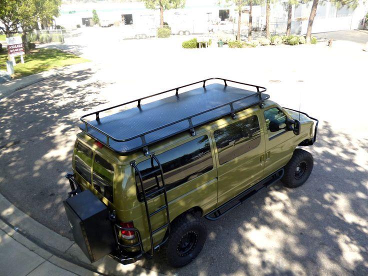 Motovan With Roof Platform Ford Van Van Roof Racks Roof Rack