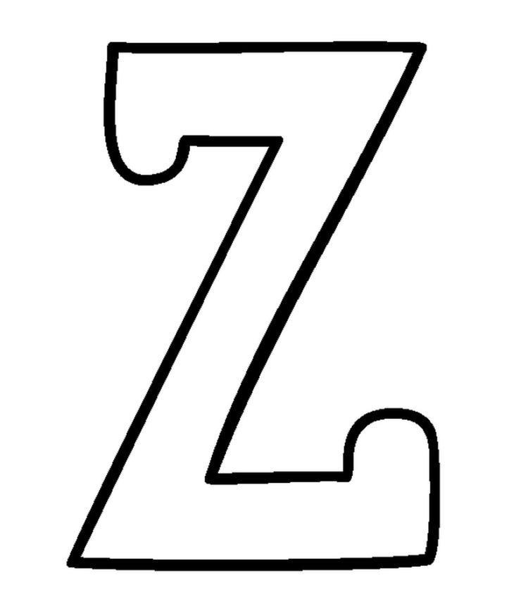 Free Z Alphabet Coloring Pages Alphabet Coloring Pages Alphabet Coloring Coloring Pages