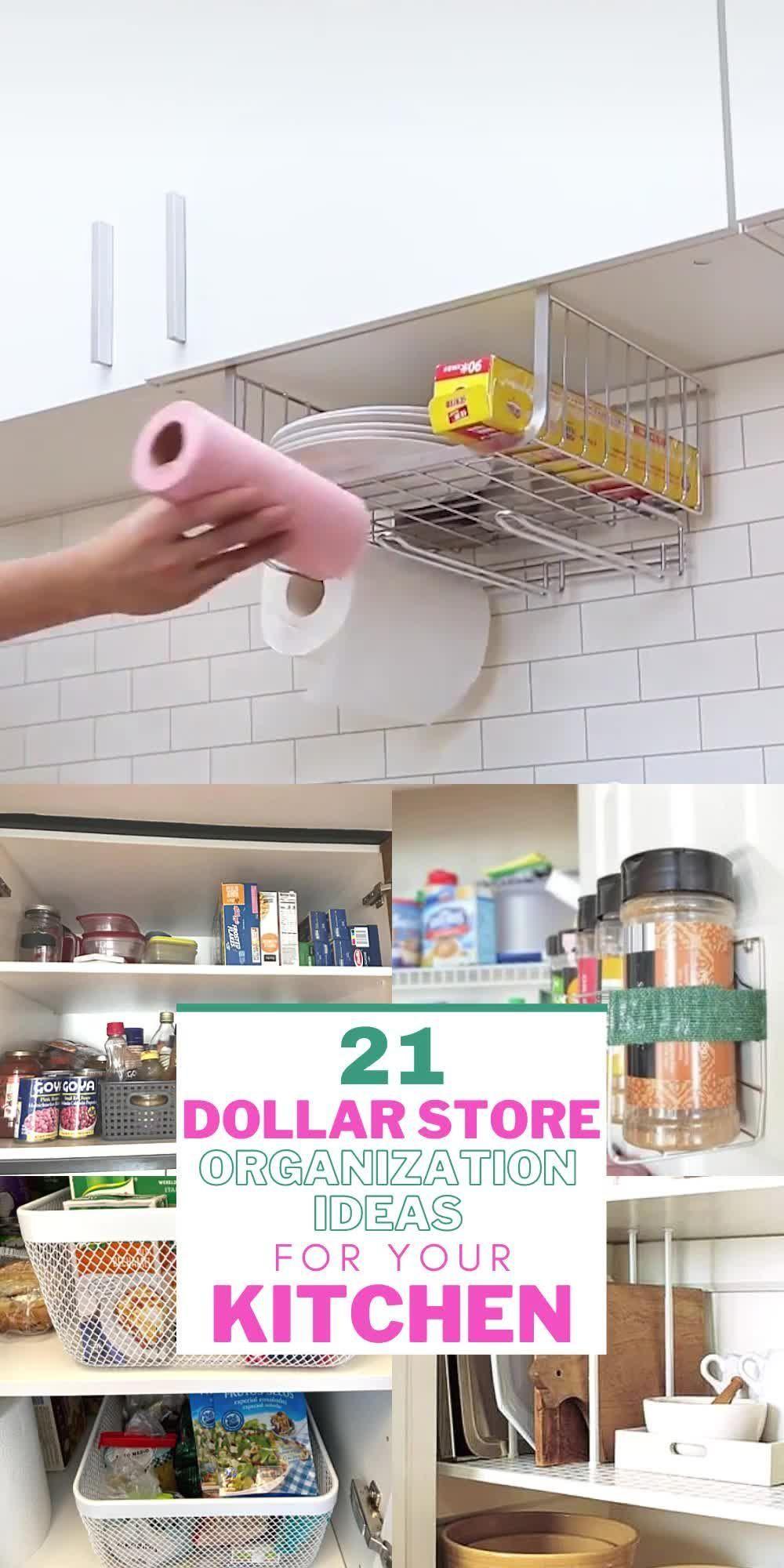Photo of 21 dollar store organization ideas on a budget