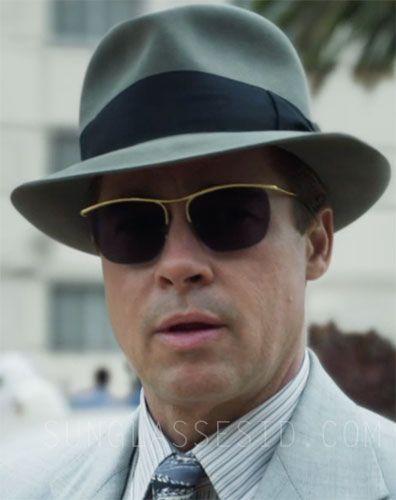 738f038a9 Brad Pitt sunglasses in Allied | Keath | Brad pitt sunglasses ...