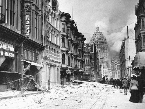 1906 ... San Francisco Earthquake