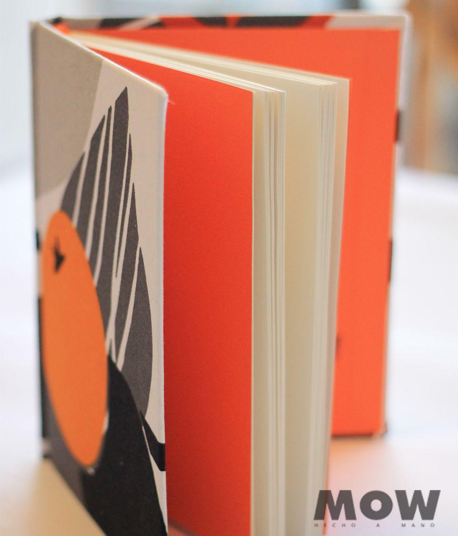 Winter Orange, especial para el invierno Cuaderno MOW 100 hojas ...