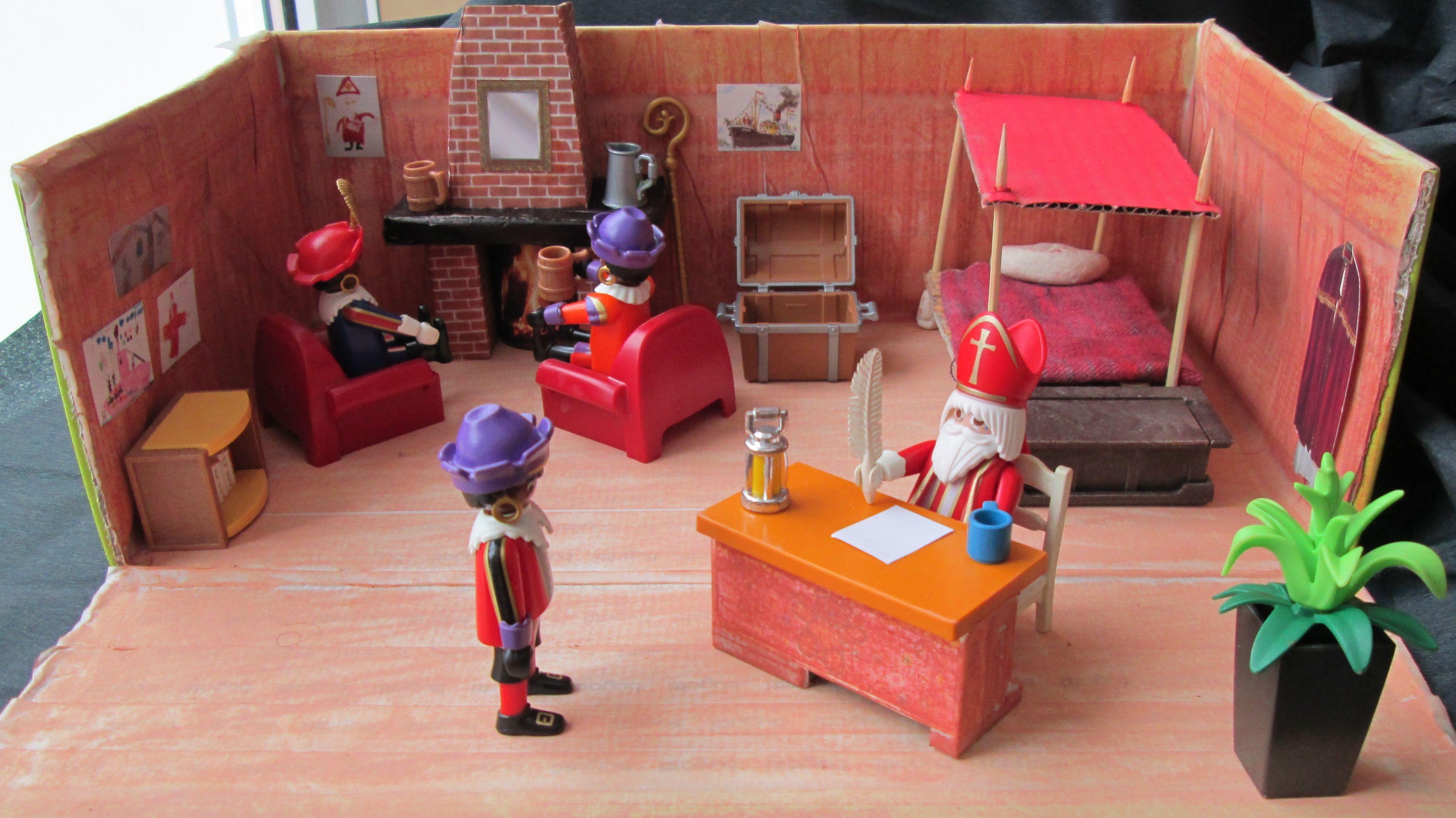 Playmobil Dollhouse Slaapkamer : Sinterklaas werk slaapkamer verteltafel nutsschool maastricht