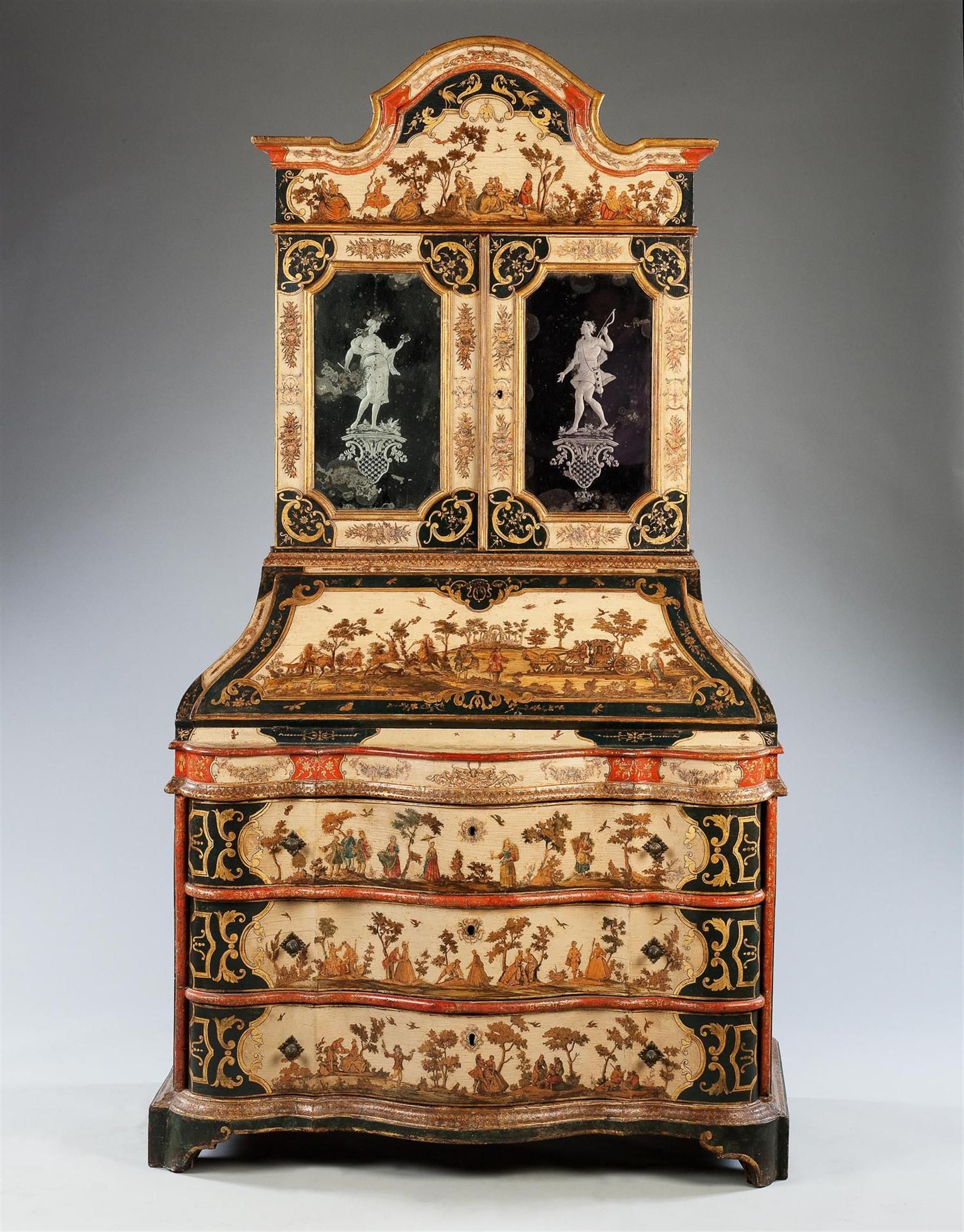 Uno de los primeros del siglo 18 el arte povera mesa para libros mallett antiques petit muebles - Muebles el siglo ...