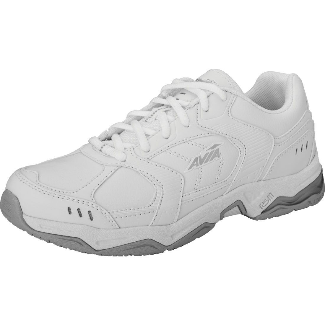 Slip Resistant Athletic White Slip resistant shoes