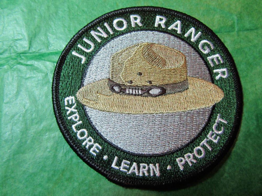 NATIONAL PARK SERVICE JUNIOR RANGER EXPLORE LEARN PROTECT