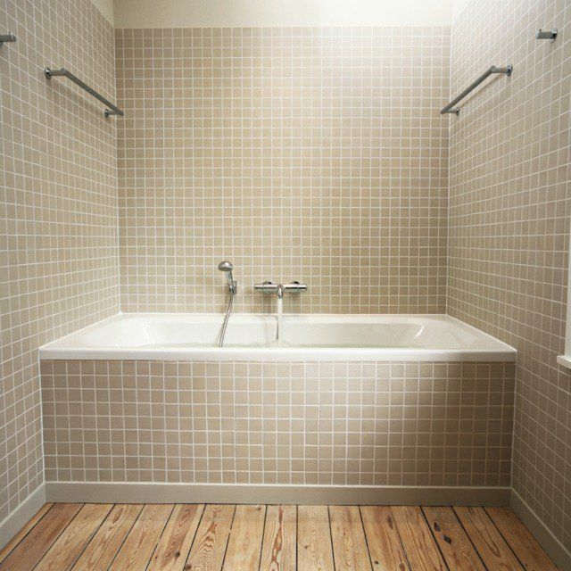 Carrelage salle de bains u2013 34 idées avec la belle mosaïque House - carrelage salle de bain petit carreaux