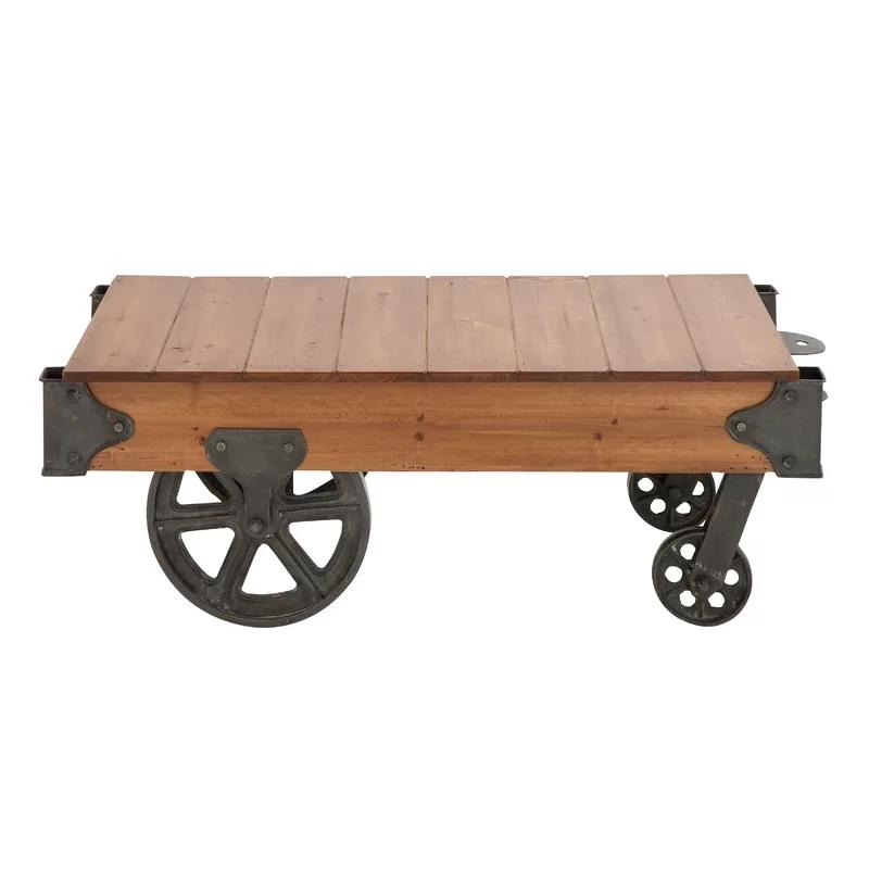 Hardrigg Cart Coffee Table & Reviews Birch Lane in 2020