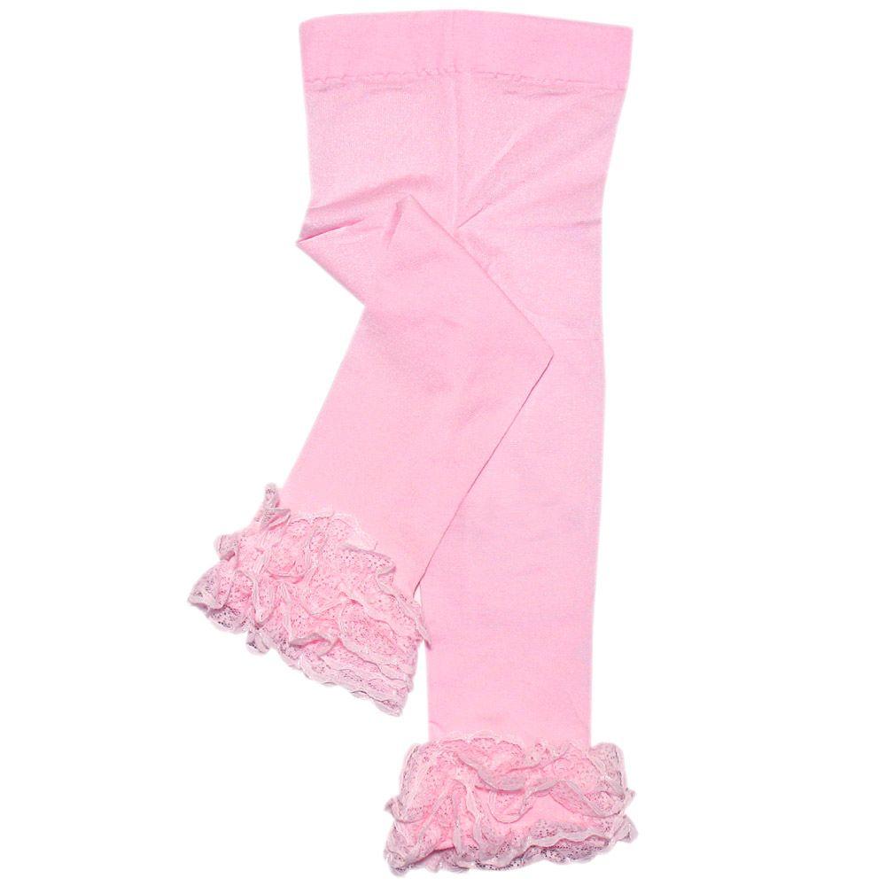 Vauvanvaatteet ja lastenvaatteet - Vauvan legginssit, röyhelö, 0-12kk