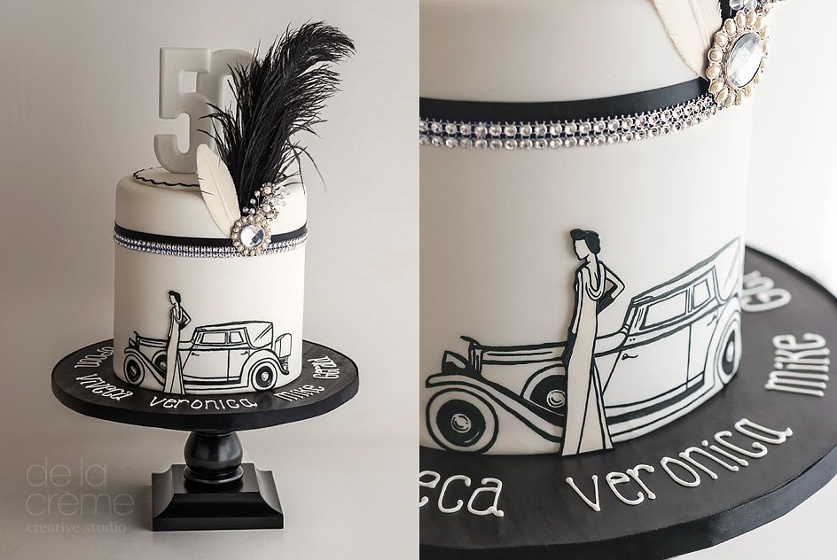 Harlem Nights Inspired Cake With Images Harlem Nights Harlem