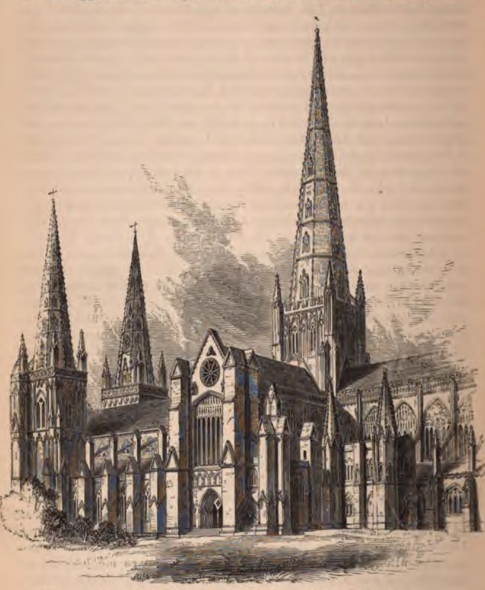 View of Lichfield Cathedral