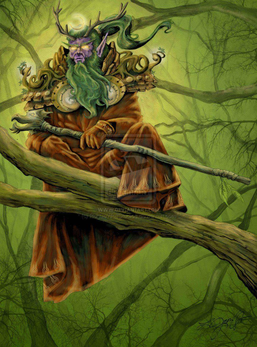Wow Druid Lifepiper By Ljasonqueen On Deviantart