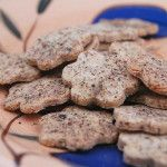 Black Pepper and Rosemary Crackers