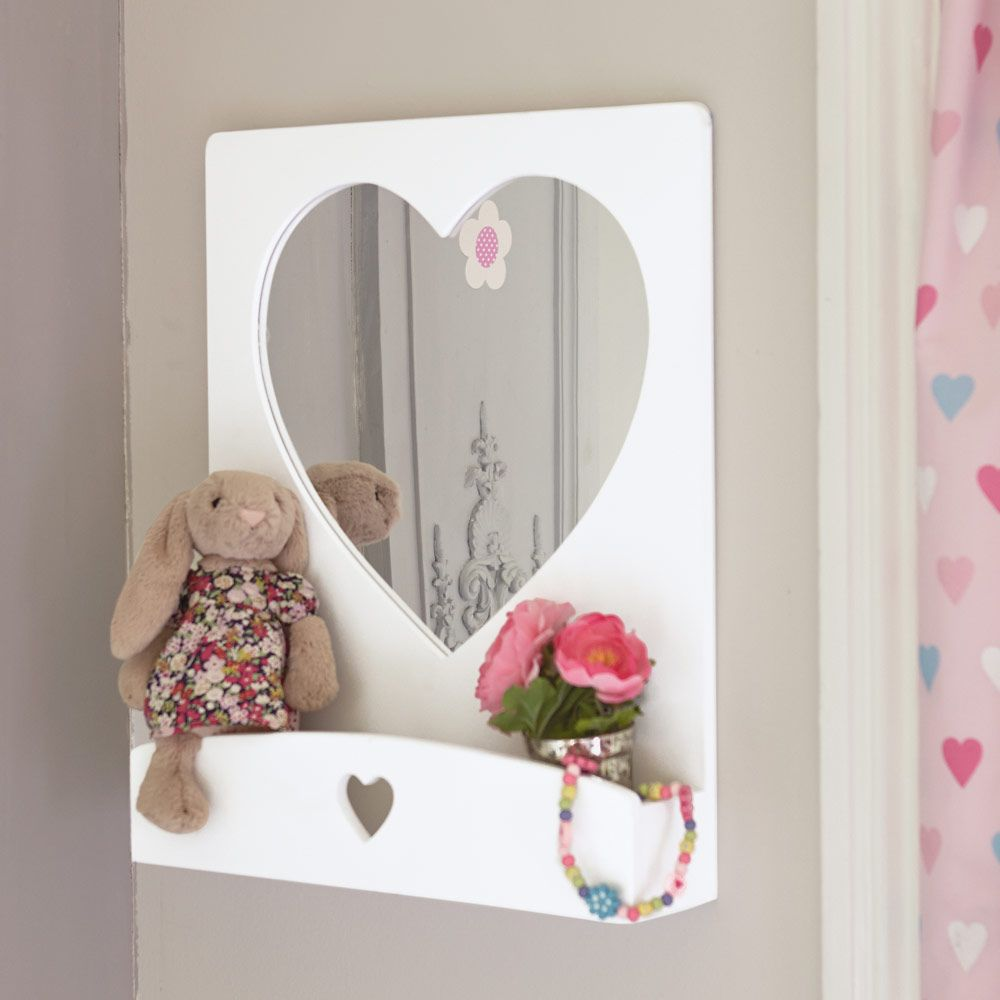 Sweetheart wall mirror dressing tables mirrors jewellery sweetheart wall mirror dressing tables mirrors jewellery boxes childrens furniture amipublicfo Choice Image