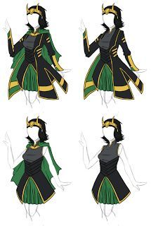 Photo of fem!Loki Yes! I was looking for this but I didn't know I was looking for this un…