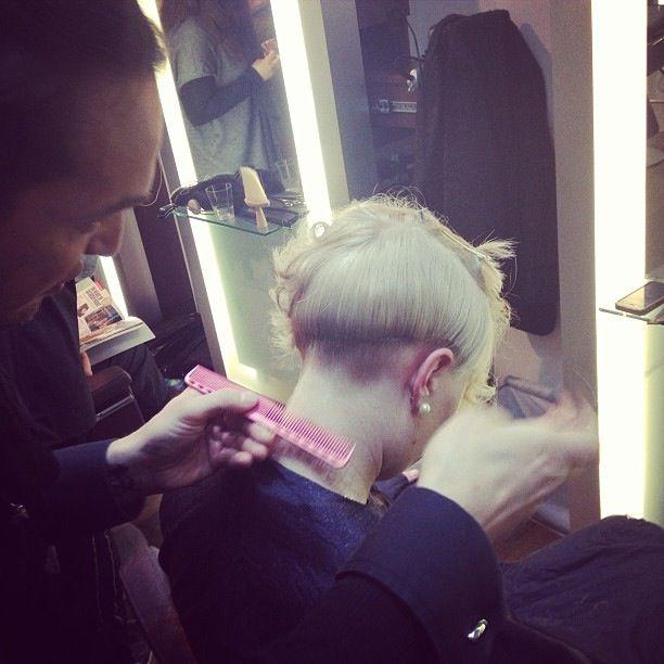 Hair cut @ Mod Salons Roma www.modsalons.it