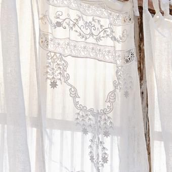 Scheibengardine Mabel Loberon Coming Home Country Style Curtains Curtains Linens And Lace