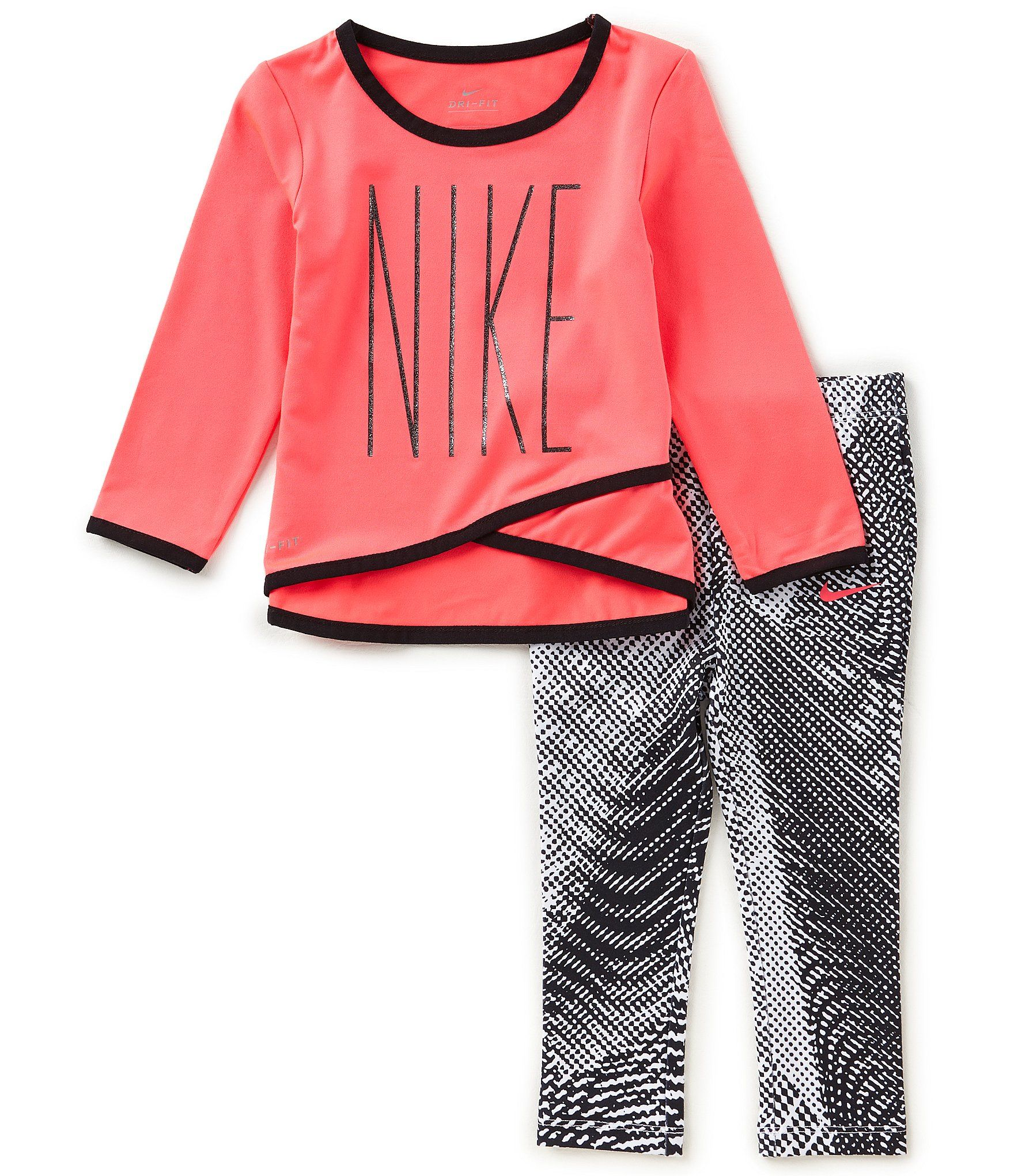 cce5b00dbb Shop for Nike Baby Girls 12-24 DriFit Sport Essentials Crossover Tunic &  Printed Legging Set at Dillards.com. Visit Dillards.com to find clothing,  ...