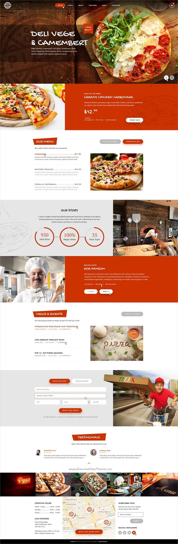 Pin by Profactions on Site & Landing Page Templates | Pinterest ...