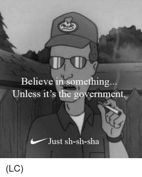 Nike Believe In Something Meme