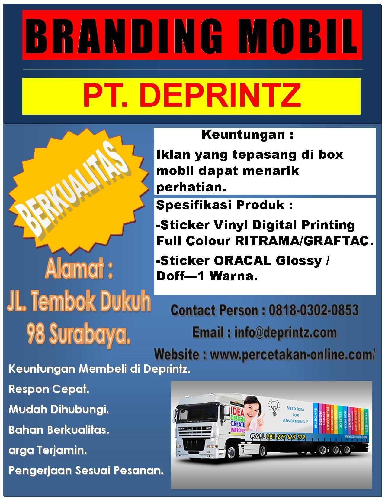 Call Wa 0818 0302 0853 Jasa Pembuatan Branding Mobil